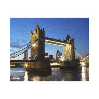 タワー橋ロンドン キャンバスプリント