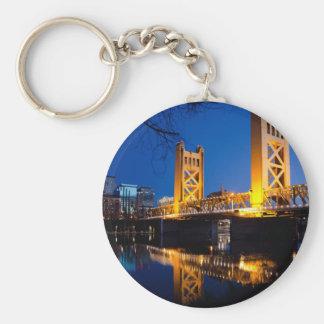 タワー橋-サクラメント、カリフォルニア キーホルダー