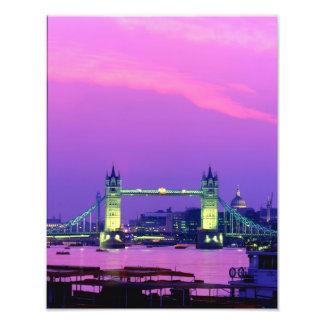 タワー橋、ロンドン、イギリス3 フォトプリント