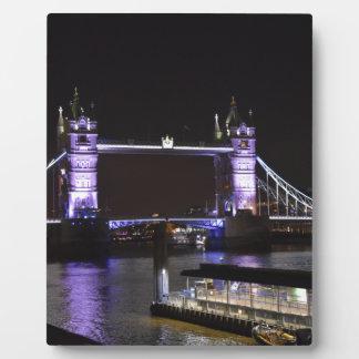 タワー橋、ロンドン フォトプラーク