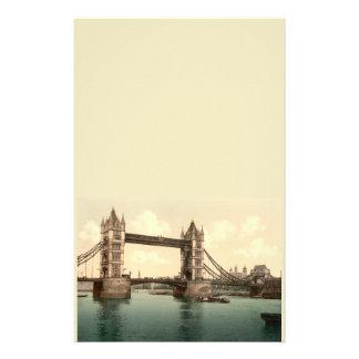 タワー橋II、ロンドン、イギリス 便箋