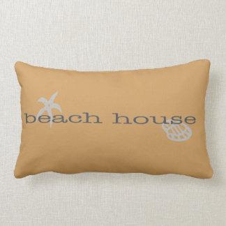 タンのビーチハウスの装飾用クッションのヒトデの貝殻 ランバークッション