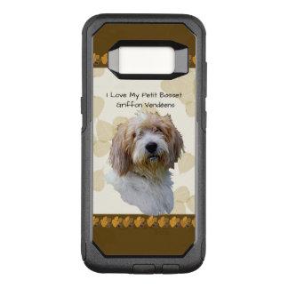 タンの葉の小さいバセット犬Griffon Vendéen オッターボックスコミューターSamsung Galaxy S8 ケース
