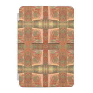 タンの銅の抽象芸術 iPad MINIカバー