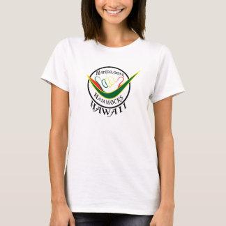 タンクトップのHANGLOOSEはハワイSHAKKAをハンモックに入れてつるします Tシャツ