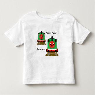 タンク機関車ChooのChooの列車私は2 Tシャツです トドラーTシャツ