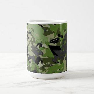 タンク軍隊のカムフラージュのコーヒー・マグ コーヒーマグカップ