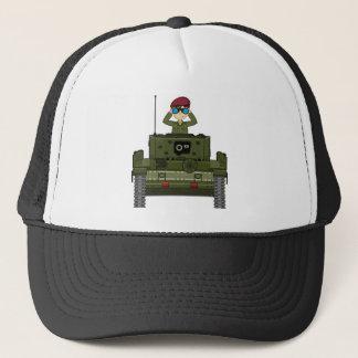 タンク野球帽のイギリス陸軍の兵士 キャップ