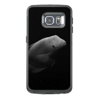 タンク-白黒芸術の写真の魚 オッターボックスSamsung GALAXY S6 EDGEケース