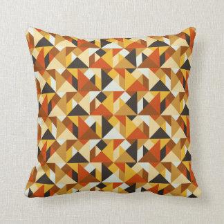 タングラムは幾何学的なパターン装飾用クッションをタイルを張ります クッション