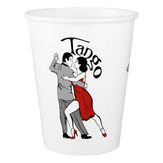 タンゴのカップル 紙コップ