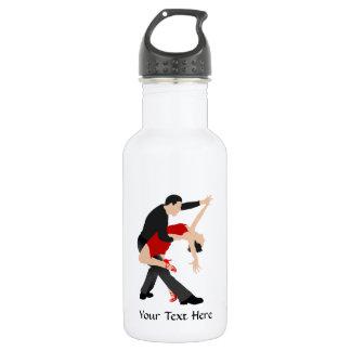 タンゴのダンサー(カスタマイズ) ウォーターボトル