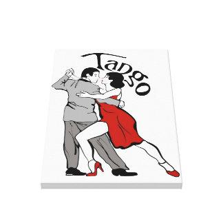 タンゴのダンサー キャンバスプリント