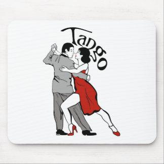 タンゴのダンサー マウスパッド