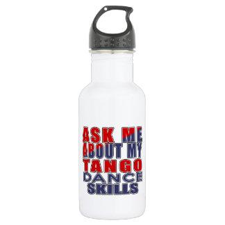 タンゴのダンスについて私に尋ねて下さい ウォーターボトル