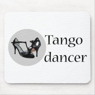 タンゴのダンスのカッコいいのデザイン! マウスパッド