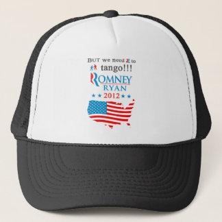 タンゴのRomneyの帽子への2 キャップ