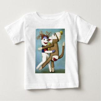 タンゴを踊る汚れたソックス ベビーTシャツ