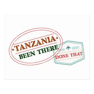 タンザニアそこにそれされる ポストカード