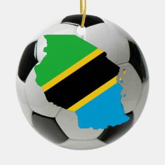タンザニアのフットボールのサッカーのオーナメント セラミックオーナメント