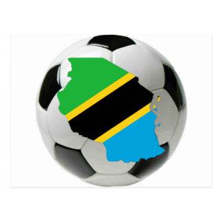 タンザニアの全国代表チーム ポストカード