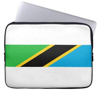 タンザニアの国旗の国家の記号 ラップトップスリーブ