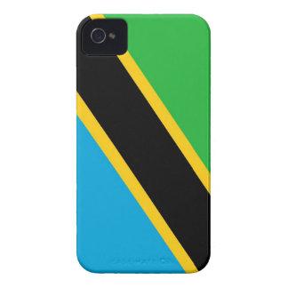 タンザニアの国旗の箱 Case-Mate iPhone 4 ケース