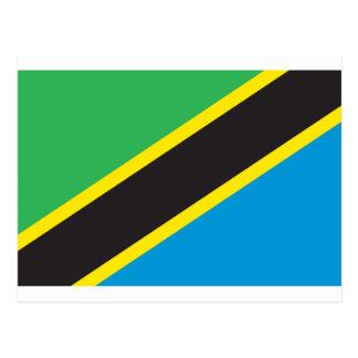 タンザニアの旗 ポストカード