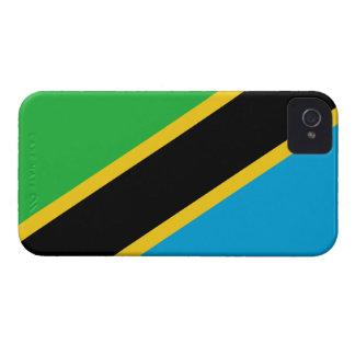 タンザニアの旗 Case-Mate iPhone 4 ケース