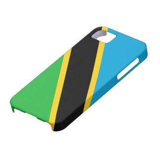 タンザニアの旗 iPhone SE/5/5s ケース