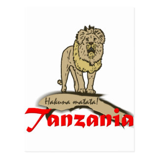 タンザニアの糖菓 ポストカード