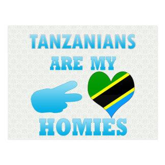 タンザニア人は私のHomiesです ポストカード