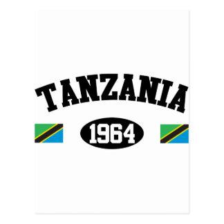 タンザニア1964年 ポストカード
