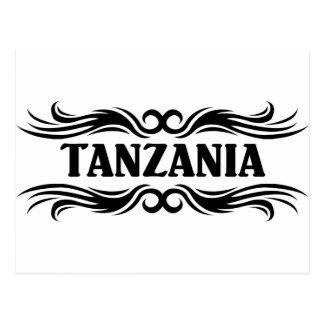 タンザニア ポストカード