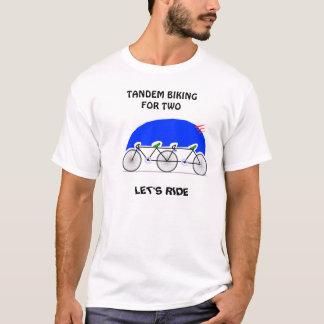 タンデムサイクリング Tシャツ