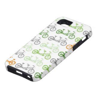 タンデムバイクおよびタンデムバイク iPhone SE/5/5s ケース
