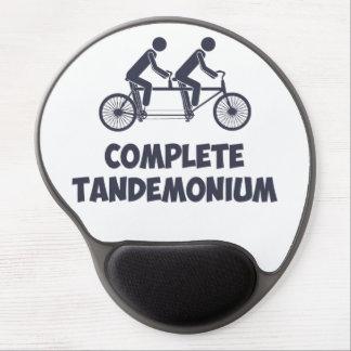 タンデムバイク完全なTandemonium ジェルマウスパッド