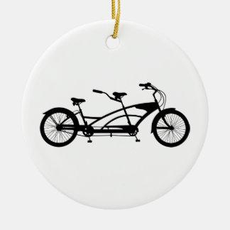 タンデムバイク セラミックオーナメント
