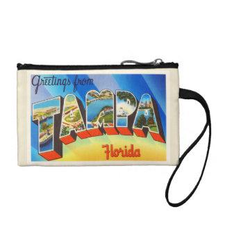 タンパフロリダFLの古いヴィンテージ旅行記念品 コインパース