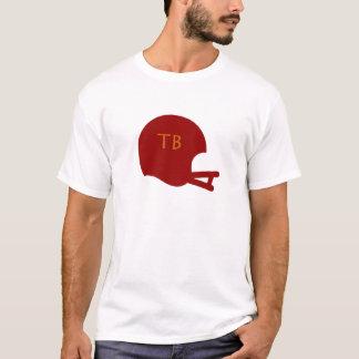 タンパベイのヴィンテージのフットボール用ヘルメット Tシャツ