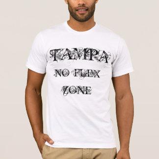 タンパ屈曲の地帯無し Tシャツ