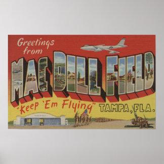 タンパ、フロリダ- Macのディル分野からの挨拶 ポスター