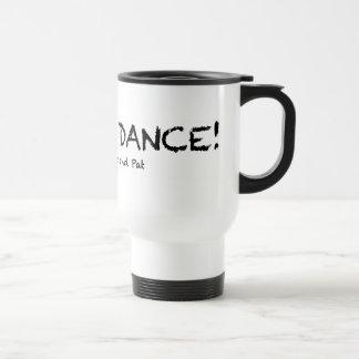 タンブラーを踊ることを行くこと トラベルマグ