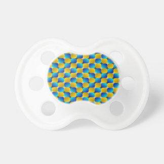 タンブラー#3の目の錯覚の歪む青か黄色 おしゃぶり