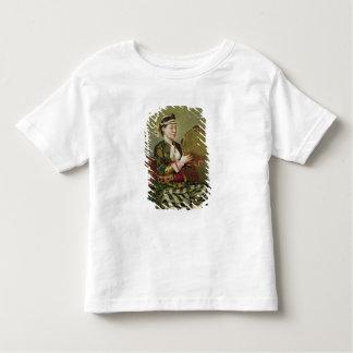 タンブリンを持つトルコの女性 トドラーTシャツ