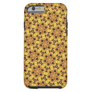 タンポポのイエロー・ゴールドのiPhone 6/6sの携帯電話の箱 ケース