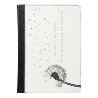 タンポポのインスピレーションのiPadの空気フォリオの箱 iPad Airケース