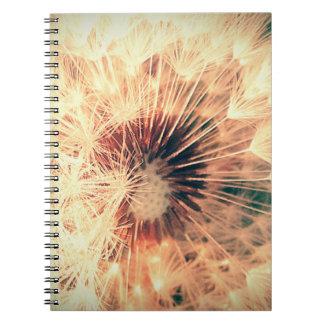 タンポポのハート ノートブック