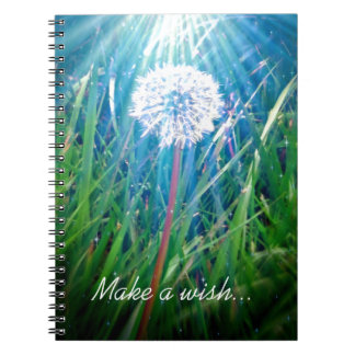 タンポポのマクロ ノートブック