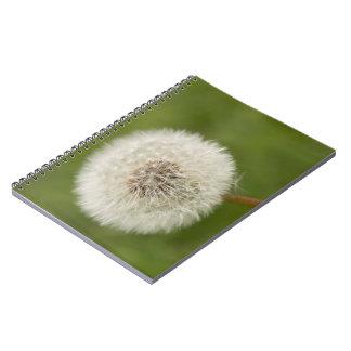 タンポポの時計 ノートブック